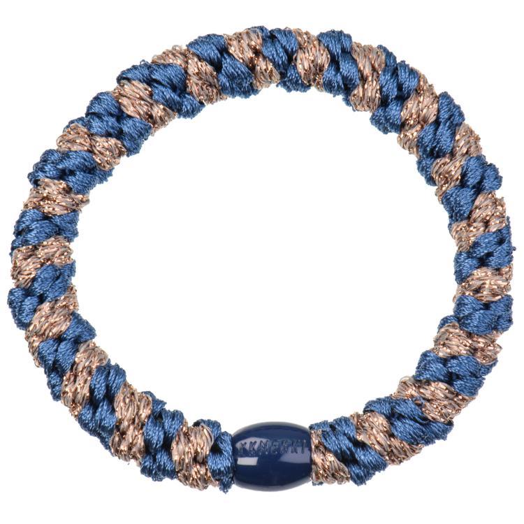 Kknekki indigo taupe glitter stripe