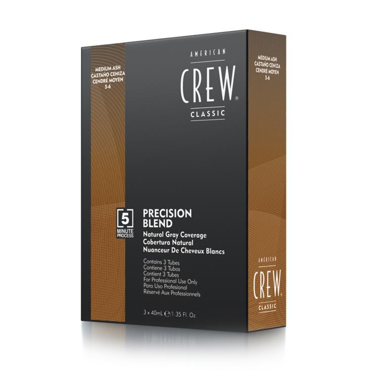 American Crew Precision Blend 5-6 Medium Ash (3x40ml)