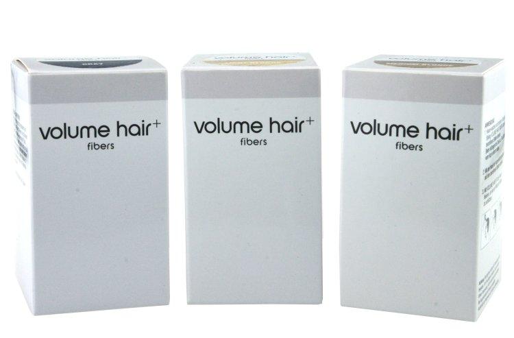 Volume hair fibers Haarverdichtungsfasern