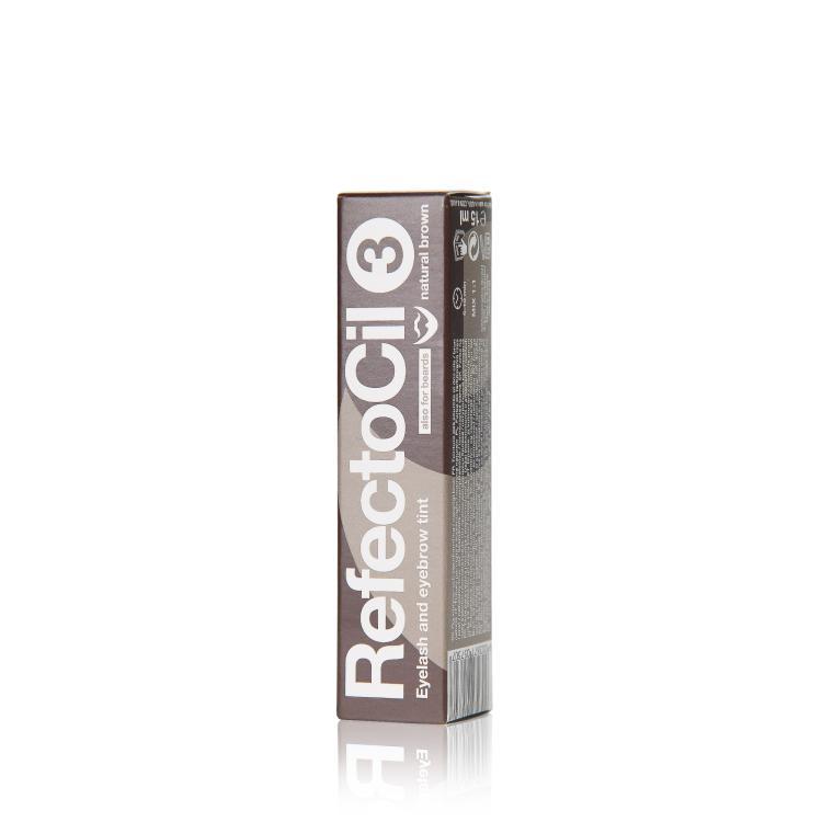RefectoCil Augenbrauen- und Wimpernfarbe 3 naturbraun