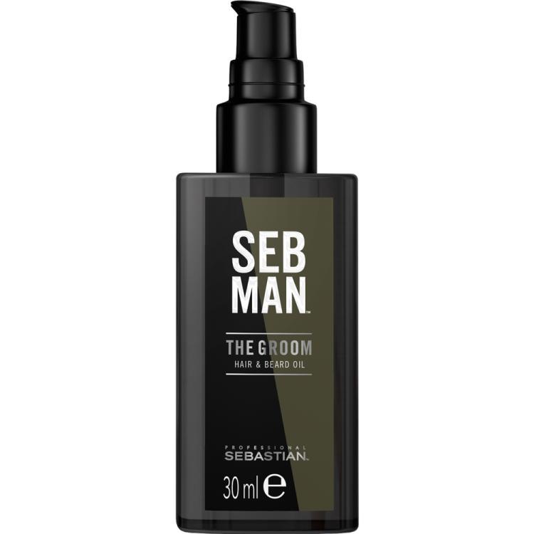 SEB MAN The Groom Hair & Beard Oil