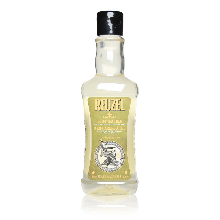 Reuzel 3in1 Tea Tree Shampoo-Conditioner-Body-Wash