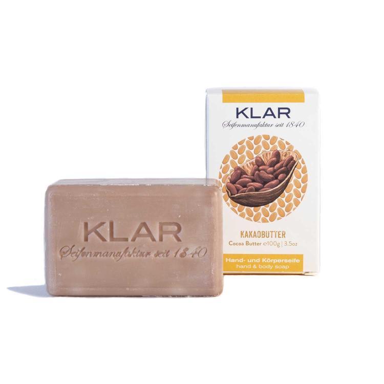 Klar Hand- und Körperseife Kakaobutter