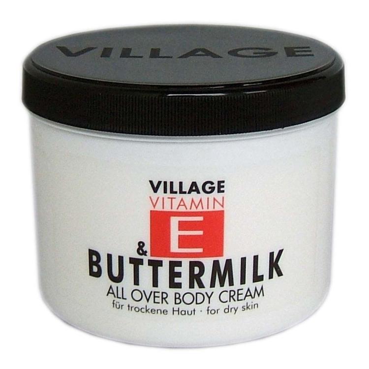 Village Vitamin E & Buttermilch Bodycream