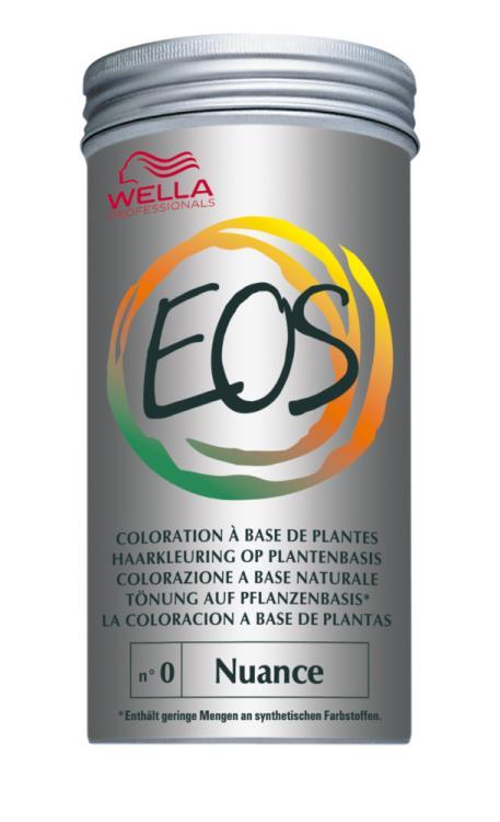Wella EOS Coloration auf Pflanzenbasis