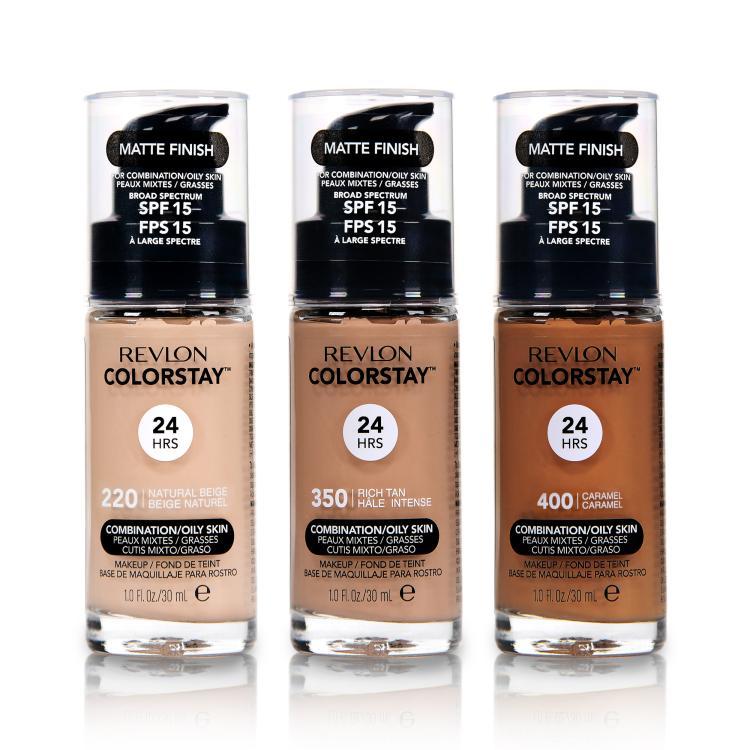 Revlon Colorstay Foundation für Misch- und ölige Haut