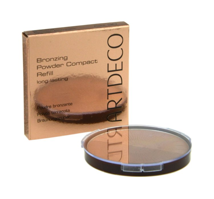 Artdeco Bronzing Powder Compact Refill Long-Lasting 50 almond