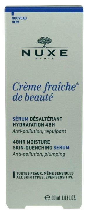 Nuxe Creme fraiche de beaute Serum Desalterant Hydratation 48h